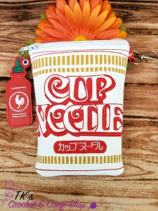Cup of Noodles Shaped Bag