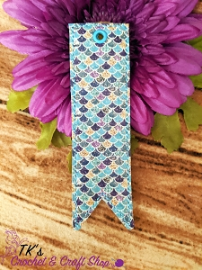 Mermaid Scales Small Bookmark