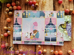 Beauty and the Beast Card Holder