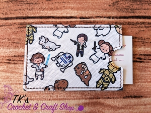 Squishy Star Wars Characters Card Holder
