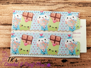 Gumballs and Chocolate Bars Card Holder
