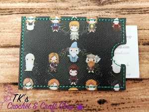 Cartoon Lord of the Rings Characters  Card Holder