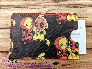 Deadpool and Pikachu Card Holder