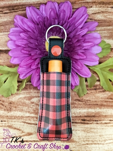 Buffalo Plaid Chapstick Holder