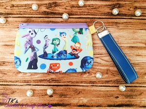 Inside Out Medium Clutch Bag