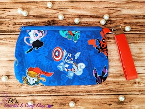 Pokemon Avengers Large Clutch Bag