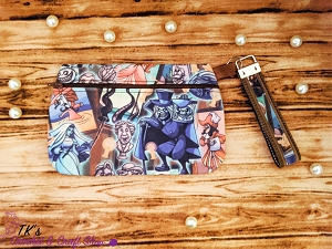 Haunted Mansion Large Clutch Bag
