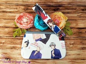 Fruits Basket Manga Medium Clutch Bag