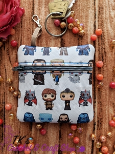 Game of Thrones Characters Coin Purse
