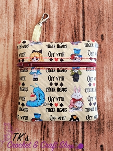 Off with Their Heads Wonderland Coin Purse