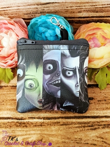 Tim Burton Characters Coin Purse