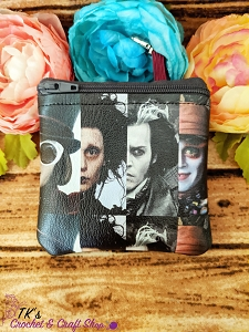 Johnny Depp Characters Coin Purse