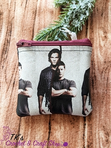 Sam and Dean Split Coin Purse