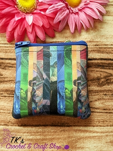 Harry Potter Book Covers Coin Purse