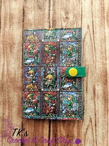 Stained Glass Link Mini Composition Holder