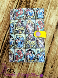 Zombie Disney Princesses Mini Composition Holder