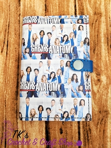 Grey's Anatomy Mini Composition Holder