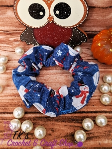 Cute Snowmen Scrunchie