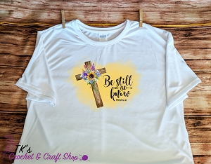 Be Still and Know Cross Shirt