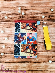 Super Hero Panels Medium Sunglasses Bag