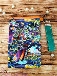 Buzz Lightyear and Zurg Large Sunglasses Bag