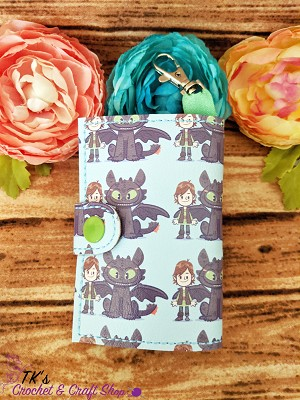 Toothless and Hiccup Wallet